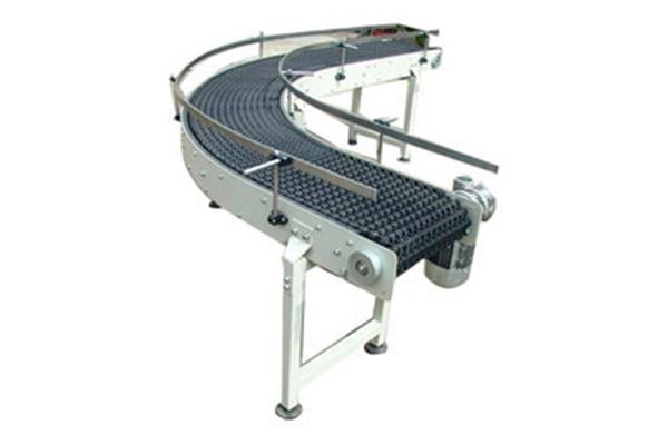Bend Modular Belt Conveyor
